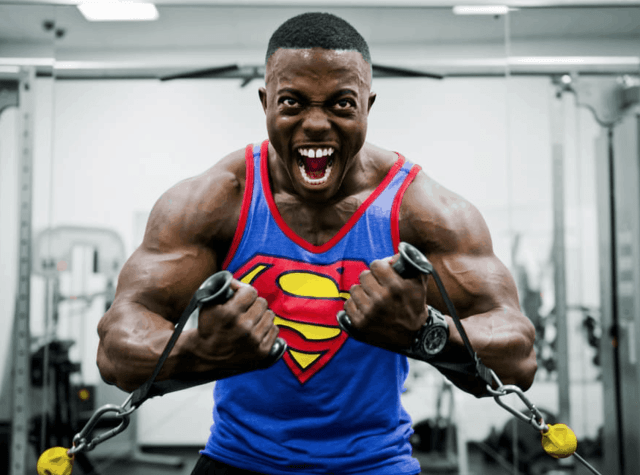 building muscle and strength development