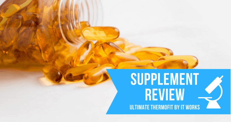 A Review of Ultimate ThermoFit by It Works, How to Analyze Supplements, and How to Save a Ton of Money by Making Your Own