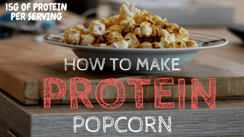 high protein snacks protein popcorn recipe