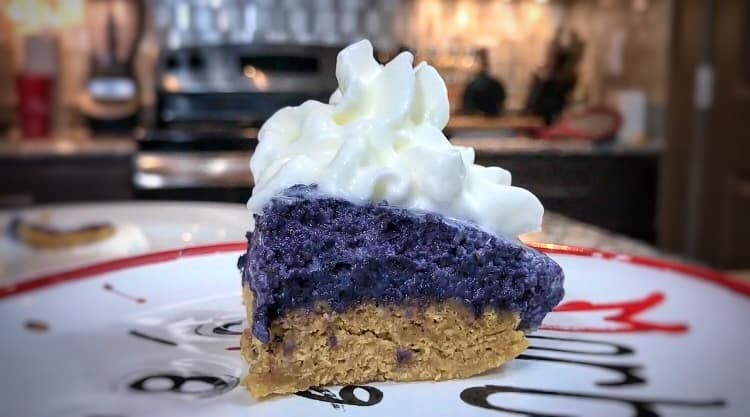 Microwaveable High Protein Blueberry Pie Recipe