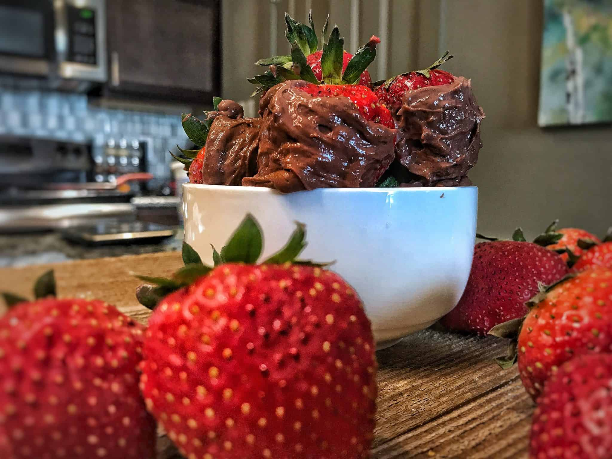 High Protein Chocolate Covered Strawberries Recipe