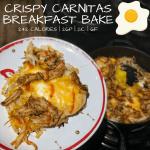 Crispy Carnitas Breakfast Bake
