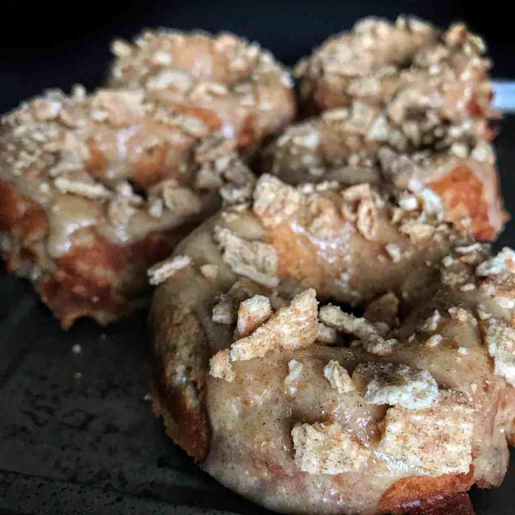 cinnamon toast crunch protein donuts
