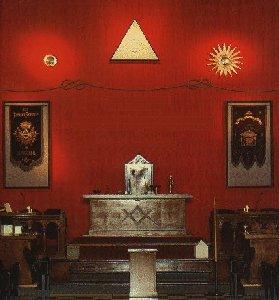 Внутри масонской Ложи