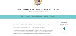 edmonton latymer lodge no 5026