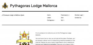 Freemason website design in Spain