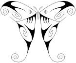 Swirly Luna Moth full
