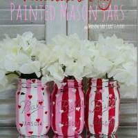 Valentine Heart Jars