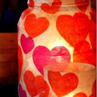Tissue Paper Votives