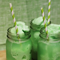 St. Patrick's Day Lime Sherbet