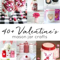 Valentine's Day Craft Ideas in Mason Jars
