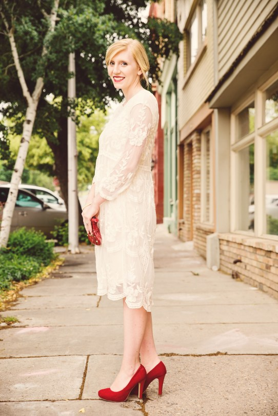 [small] Payson White Dress 2