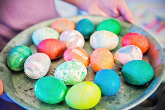 Easter Eggs colorful