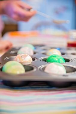 Easter Eggs Water Color