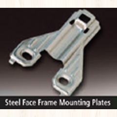 Comtrad – 0mm Hinge Plate – Stamped Steel Image