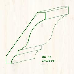 MC-15 3/4 x 4 3/8 Image