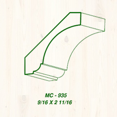 MC-935 9/16 x 2 11/16 Image