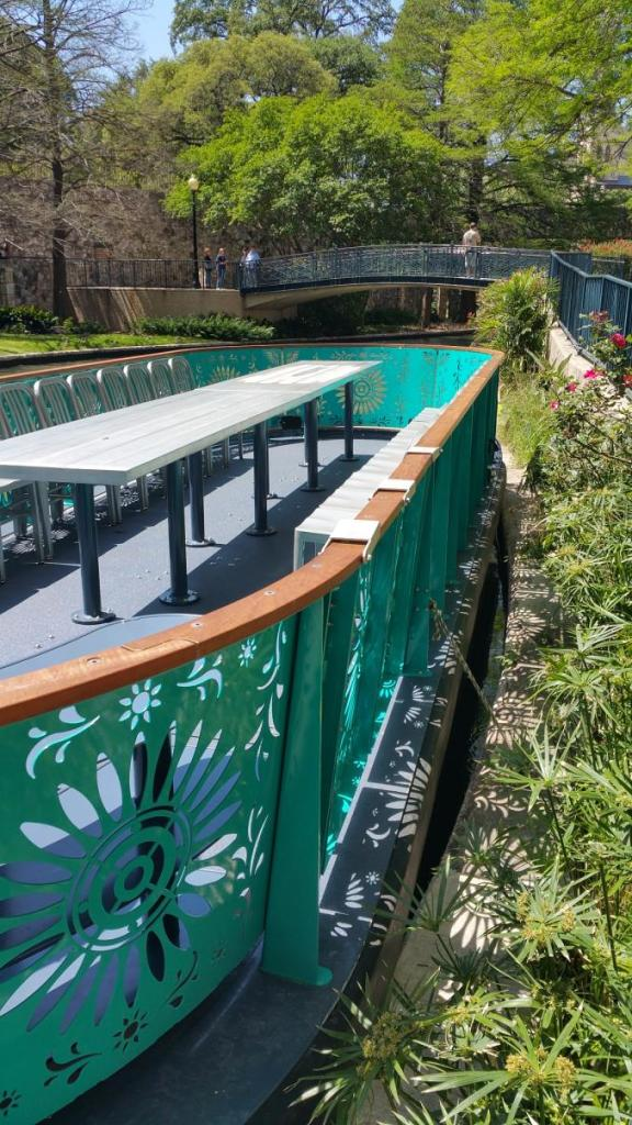 San Antonio River Walk Boat Rails2