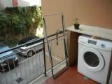 Balcony with Laundry