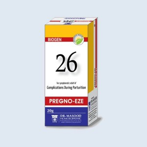 BIOGEN 26 PREGNO - Dr. Masood Homoeopathic Pharmaceuticals
