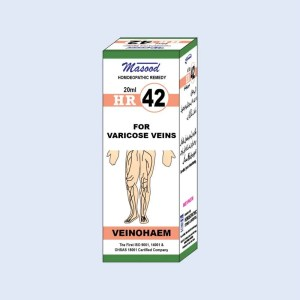 HR-42 (VEINOHAEM) - Dr. Masood Homoeopathic Pharmaceuticals