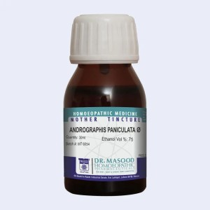Mother Tincture of Andrographis paniculata by Dr.Masood Homeopathic Pharmaceuticals