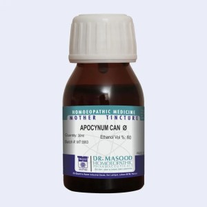 Mother Tincture of Apocynum cannabinum by Dr.Masood Homeopathic Pharmaceuticals