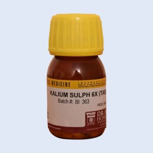 KALIUM SULPH - Dr. Masood Homoeopathic Pharmaceuticals