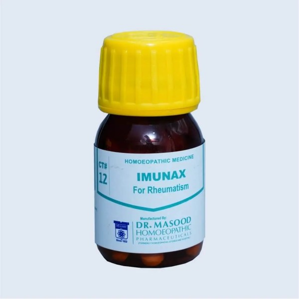 CT-12 imunax - Dr. Masood Homoeopathic Pharmaceuticals
