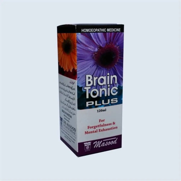 brain tonic plus - Dr. Masood Homoeopathic Pharmaceuticals