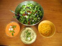 retraite spirituelle macara repas végétarien