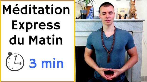 Méditation express du matin
