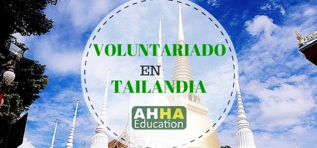 Voluntariado en Tailandia.