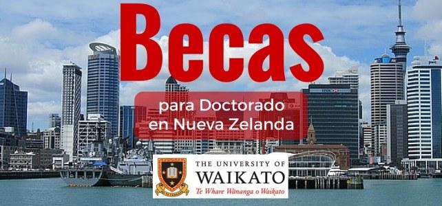 Becas de Doctorado en Nueva Zelanda