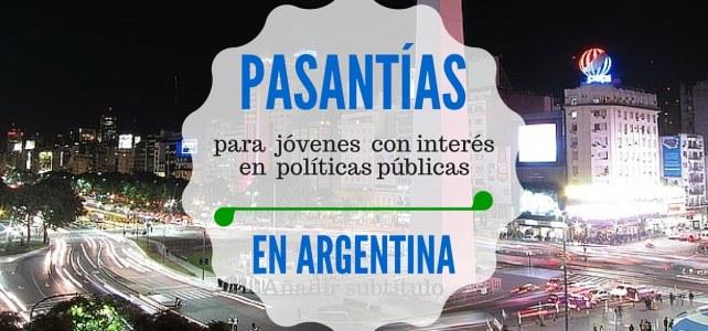 Pasantías en Buenos Aires, Argentina