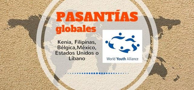 Pasantías globales con la World Youth Alliance – Para jóvenes de todo el mundo
