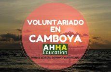 Voluntariado en Camboya