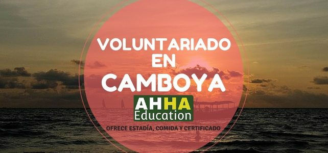 Voluntariado en Camboya