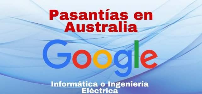Google ofrece pasantías remuneradas en Australia