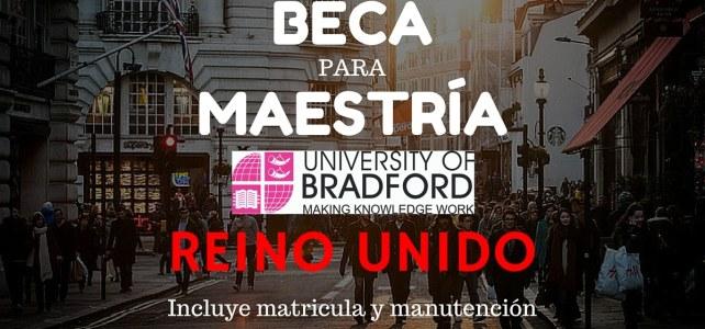 Becas completas en la Universidad de Bradford, Reino Unido
