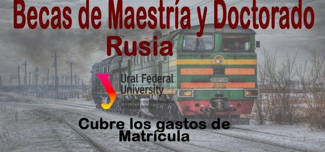 Becas en Rusia para estudiantes internacionales