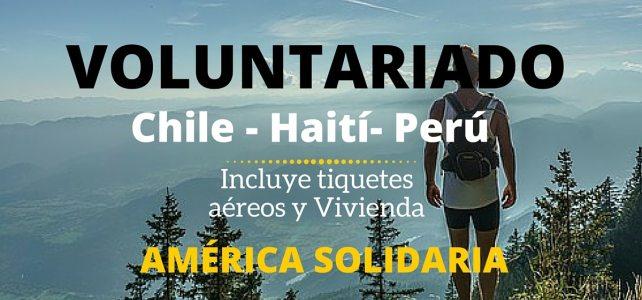 Voluntariado en América Latina – Incluye tiquetes aéreos y estadia