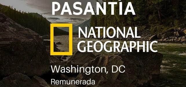 Pasantía remunerada en National Geographic