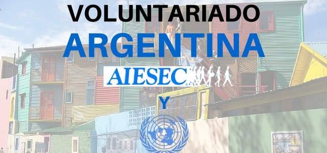Voluntariado en Argentina Naciones Unidas & AIESEC