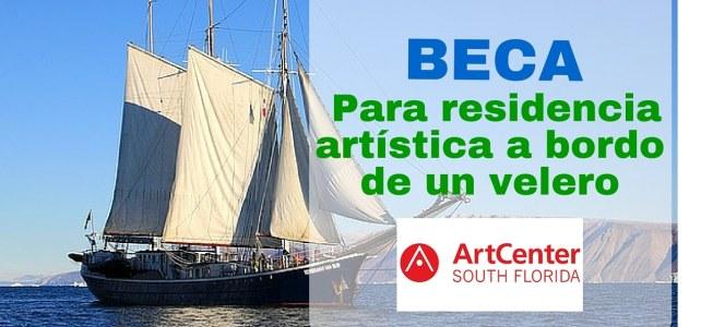 Beca para residencia artística a bordo de un velero