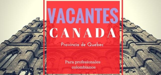 Vacantes en Canadá – Proceso de selección online y respaldado por el Ministerio de Inmigración, Diversidad y la Inclusión de la provincia de Quebec