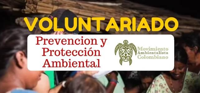 Voluntariado con el Movimiento Ambientalista Colombiano