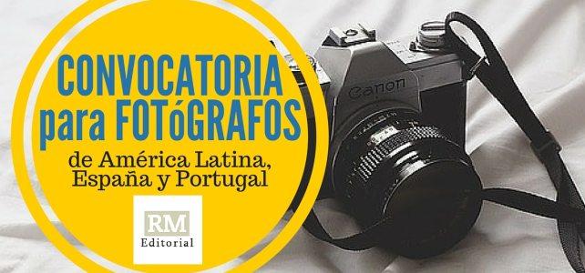 Convocatoria concurso de fotografia de la Editorial RM