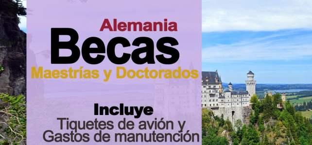 Becas en Alemania para realizar maestrías y doctorados en cualquier ciencia