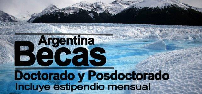 Beca para estudios de doctorado y posdoctorado en Argentina